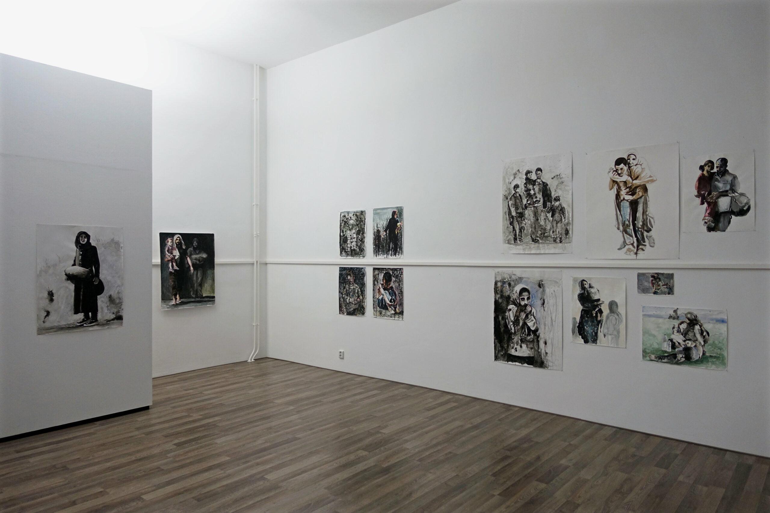 Nour-Eddine Jarram in Kunstlokaal No8