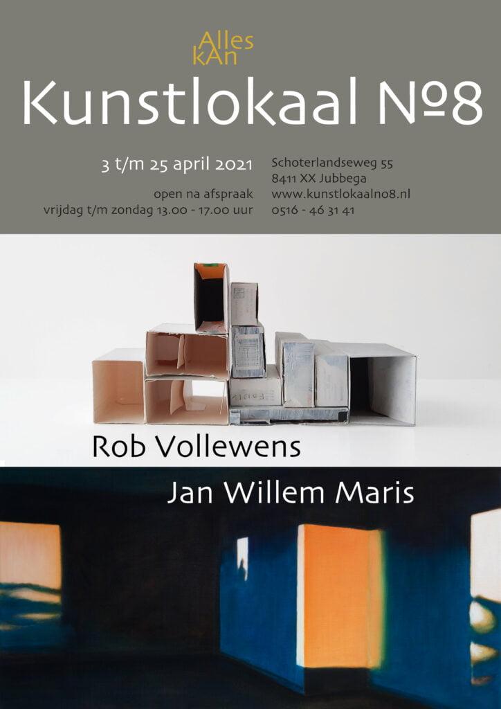 Affiche Rob Vollewens en Jan Willem Maris