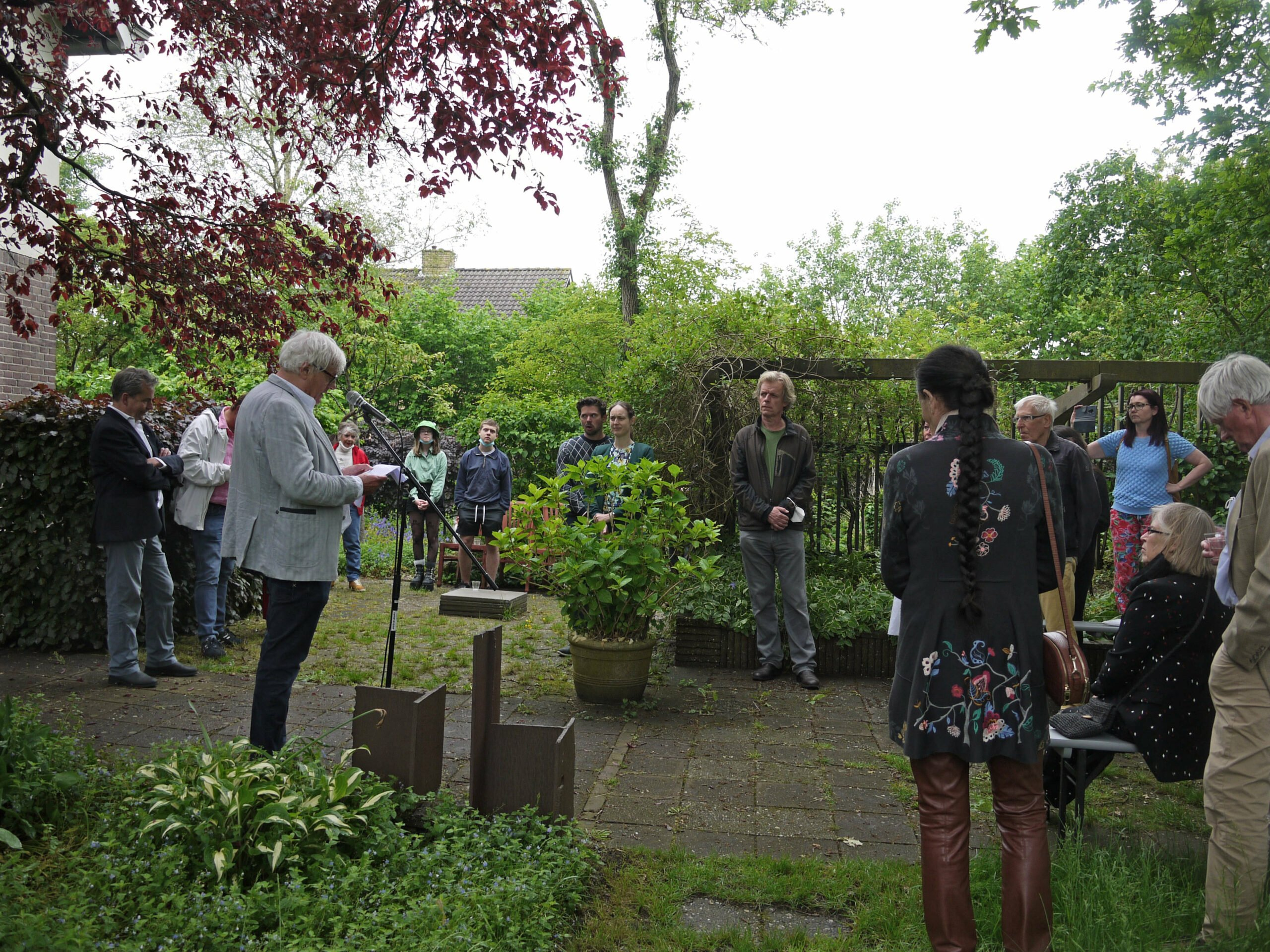 Opening Gjalt Walstra, een eerbetoon door Huub Mous