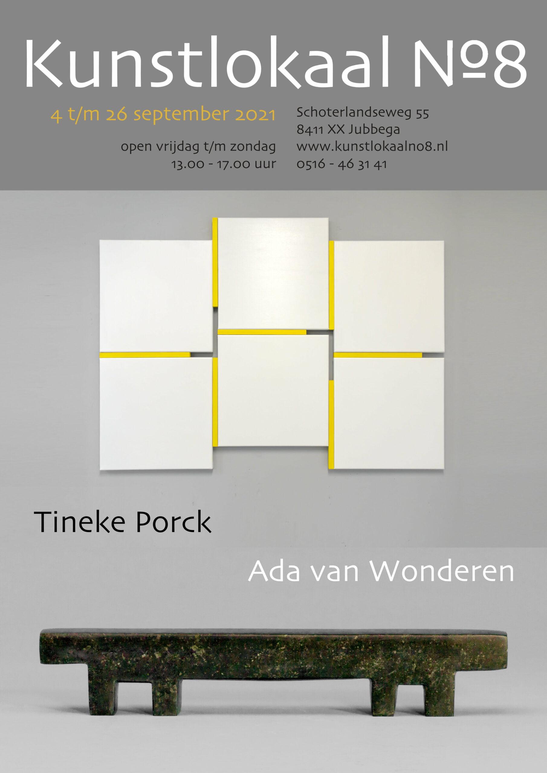 Affiche Tineke Porck | Ada van Wonderen